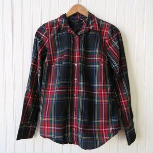 J Crew Long Sleeve Button Down Perfect Shirt